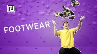 ROCUP TV: Climbing Footwork Part 1 - Footwear