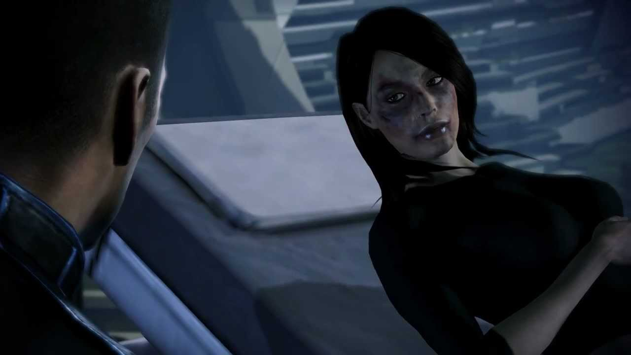 Mass Effect 3 - Second visit to Ashley at the hospital - YouTube