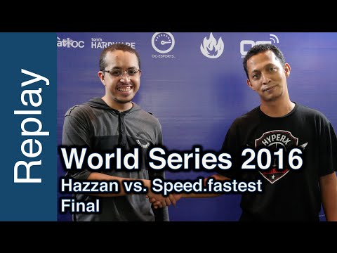 Hazzan vs Speed.fastest @HWS2016 Asia Pacific Final