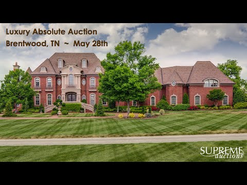 Brentwood Tennessee Mansion For Sale [12,874 Sq Ft]