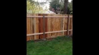 Wood & Link Fence Co. In Yelm ~ Chain Link Fence Installation In Tacoma ~ Wood Fence Maintenance
