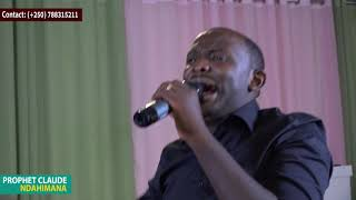 Ni gihe cyo gutungura ababisha bawe by Prophet Claude N. This is the time to suprise your enemies.