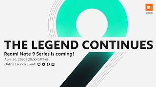 Redmi Note 9 Series Online Launch Event