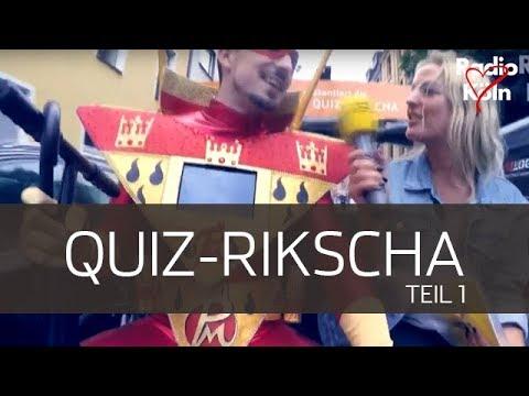 Die Radio Köln Quiz-Rikscha I