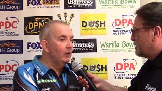 Phil Taylor 2017 Melbourne Darts Master