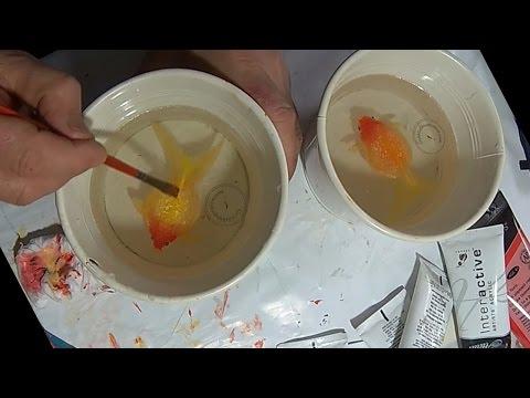 Pearlscale  Fancy 3D Goldfish Art By Gerardo Chierchia