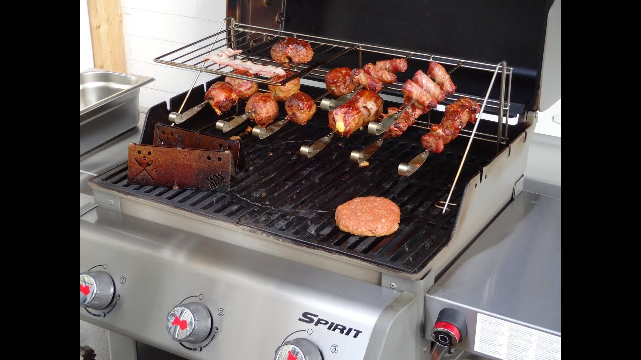Weber Gasgrill Q Test : Test weber elevations tiered cooking system youtube
