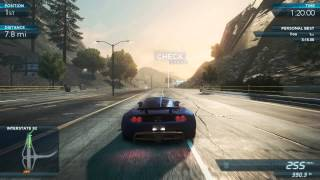"NFS Most Wanted 2012: World Record ""Around the World"" 3:14.61 - Hennessey Venom GT Spyder Pro Mods"