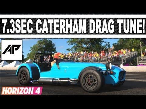 Forza Horizon 4 | Caterham R500 Drag Tune | 7.341 Second 1/4Mile! thumbnail