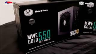 Unboxing & Load Testing | Cooler Master MWE GOLD Fully Modular 550W - PT Nusantara Jaya Teknologi