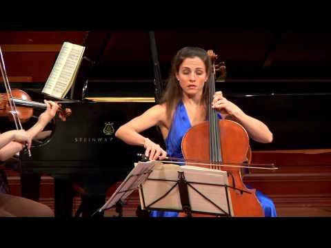 """Cortona Trio plays Dvorak """"Dumky"""" Trio, iv."""