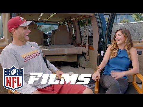 Kirk Cousins - Van Man? | Katie Nolan sits down with Kirk Cousins | NFL Films Presents