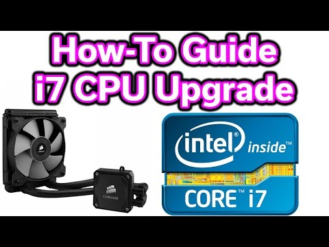 Upgrade Your CPU & Install a Liquid Cooler - Step-by-Step Guide - i7-2600K