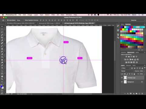 Making A Embroidered Logo In Photoshop