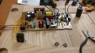Ta'mirlash kuch kommutatsiya 24V 20A 3D printer Tevo Qora Beva ta'minoti.