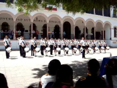 Banda de Guerra UAS Prepa Flores Magon 10 YouTube