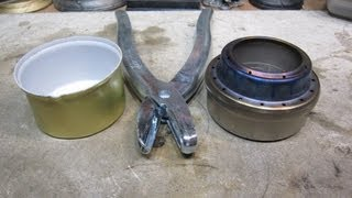 Evernew Titanium Alcohol Stove with a Snuffer   Recover mod suggested by jhippl