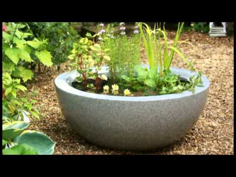 Container Ponds in BBC2 Big Dreams Small Spaces - YouTube