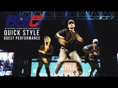 Quick Style @ BBIC KOREA 2017 (GUEST PERFORMANCE)