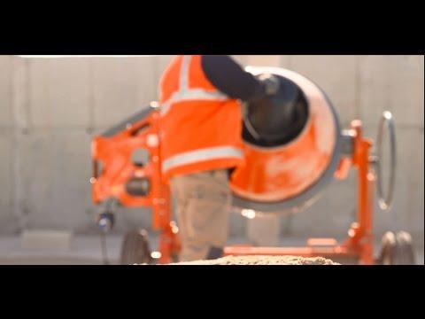 Les bons gestes en maçonnerie : mélange mortier