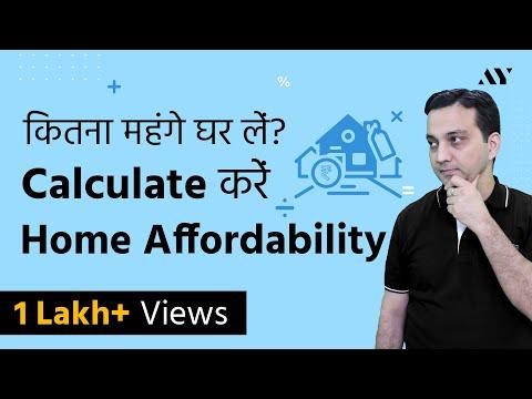 Home Loan EMI & Eligibility Calculator - Home Affordability