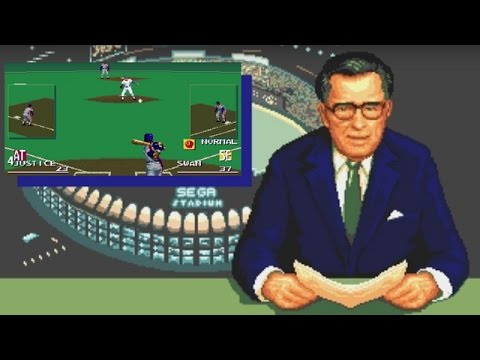 Sports Talk Baseball (Genesis) Playthrough - NintendoComplete