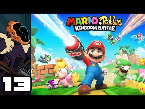 Let's Play Mario + Rabbids Kingdom Battle - Switch Gameplay Part 13 - Get Inked!