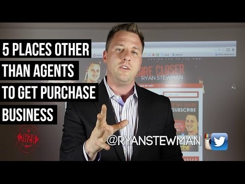 5 Places Other Than Agents to Get Purchase Business   YouTube 5 Places Other Than Agents to Get Purchase Business