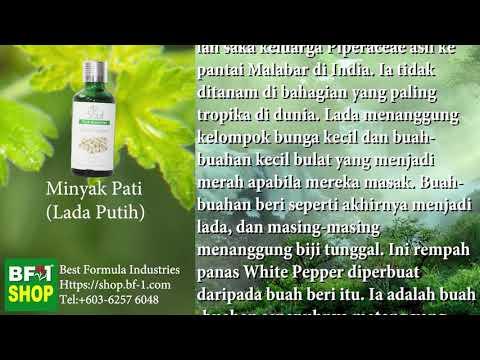 Pati Minyak Wangi Aromatik - Lada Putih (White Pepper)