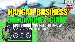 GTA Online Hangar Business SOLO Money Guide YouTube Videos