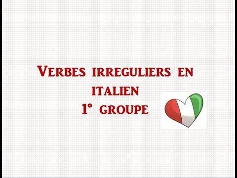Italian Irregular Verbs Present Tense Verbes Irreguliers En Italien Lezione 12 Youtube