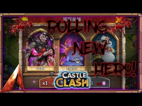 Castle Clash Rolling New Hero! Undead Cavalry? Taiwan Update!