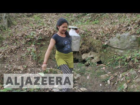 Nepal's village women tackle water crisis