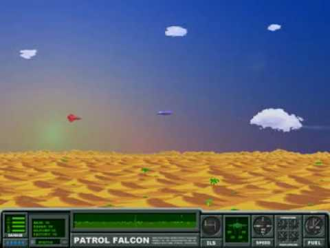 Falcon Patrol - c64 remake