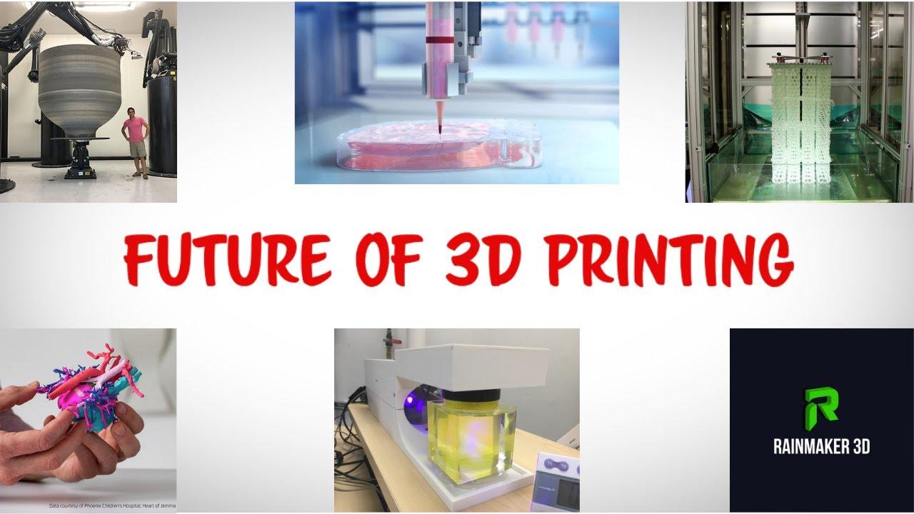 10 Futuristic Applications of 3D Printing