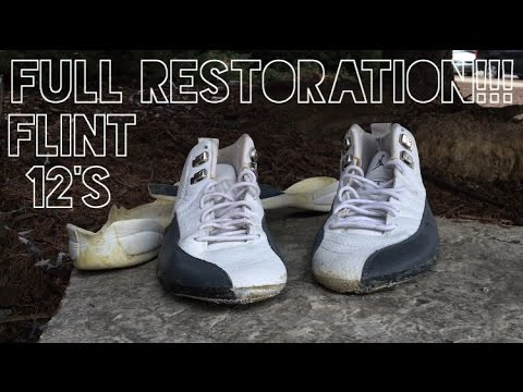 Air Jordan Flint 12s Full Restoration!