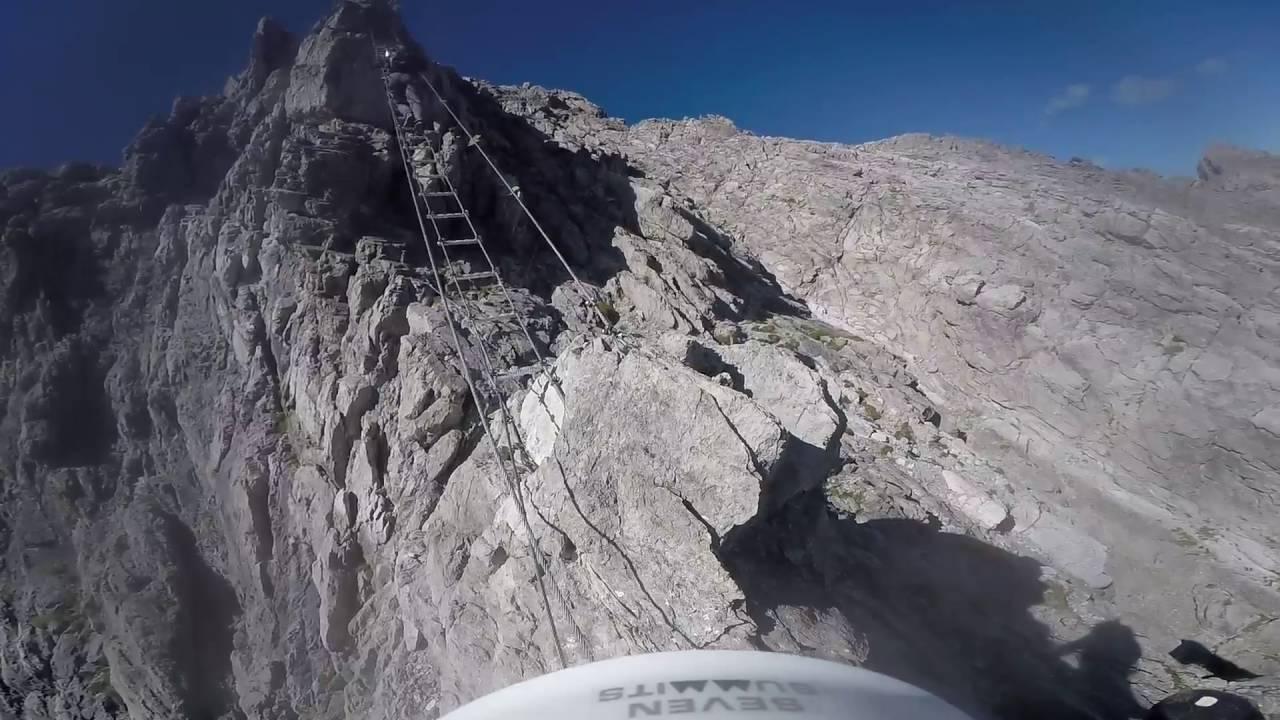 Klettersteig Lünersee : Klettersteig saulakopf d e Österreich lünersee youtube