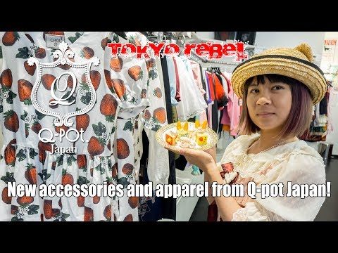 Tokyo Rebel Product Showcase #51! Accessories And Apparel From Q-pot Japan!