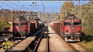4K CABVIEW Beograd - Subotica (north Serbia) - EC train 344 (Beograd - Wien Hbf)