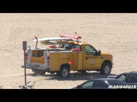 [Santa Monica Pier] Los Angeles County Lifeguards - LACoFD