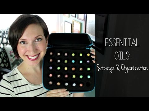 Essentail Oils Storage and Organization