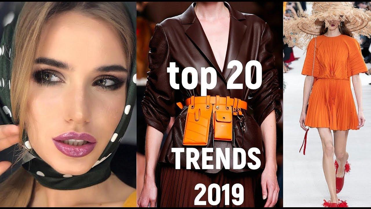 Топ Тренды Весна- Лето 2019|Топ Модных Оттенков и|мода 2019 девушки