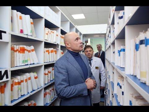 Игорь Артамонов посетил «бережливую поликлинику»