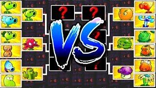 Plants vs Zombies 2 Mod Tournament Teams Plants Max Levels Pvz 2 Plantas contra Zombies 2