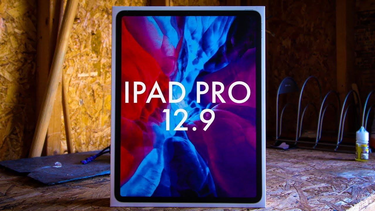 IPAD PRO 12.9 (2020) unboxing - YouTube