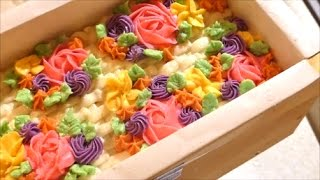 Making and Cutting Freesia Cold Process Soap