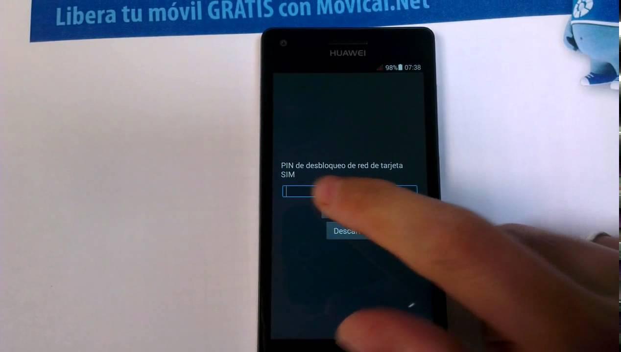 Liberar huawei ascend g6 por c digo en movical net youtube - Movical net liberar ...