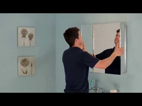 How to Install Jacuzzi® Mirrored Medicine Cabinets