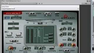 RealTime Recording Auto Tune - Adobe Audition