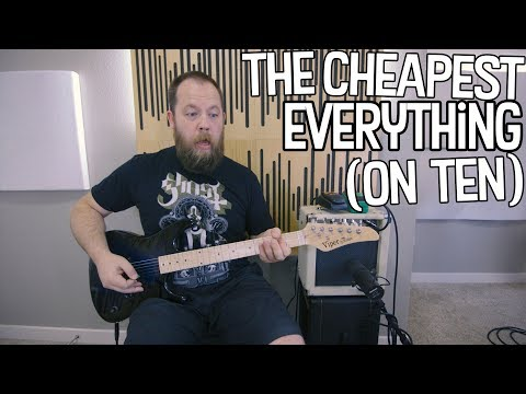 The Cheapest Everything (On Ten)